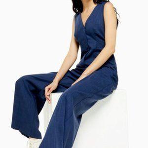 Topshop jumpsuit, blue, size 2 - FINAL PRICE